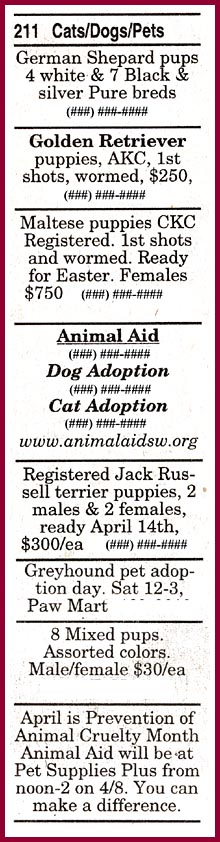 wisconsin puppy mill project inc what you can do sample