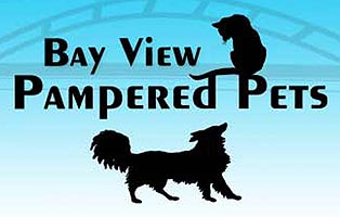 Bay View Pampered Pets logo