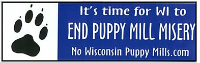 It's Time for Wisconsin to End Puppy Mill Misery.